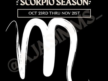 Welcome to Scorpio Season ♏!