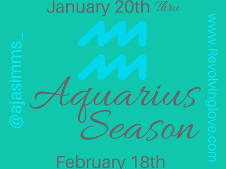 #Aquarius Season ♒️