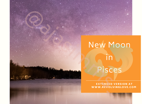Welcome to the New Moon in Pisces 🌑♓!