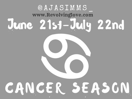 Welcome to #CancerSeason ♋️