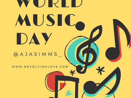 #WorldMusicDay 🎶🎵 #SelfCare
