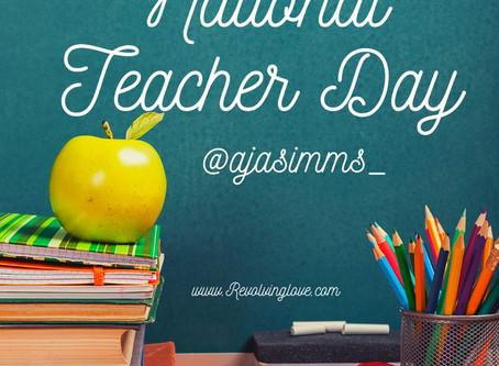 #NationalTeachersDay #Teacher #SelfCare