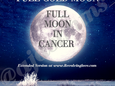 Full Moon In Cancer 🌕♋!