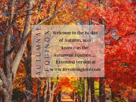 Welcome to the Autumnal Equinox 🍃🍂!