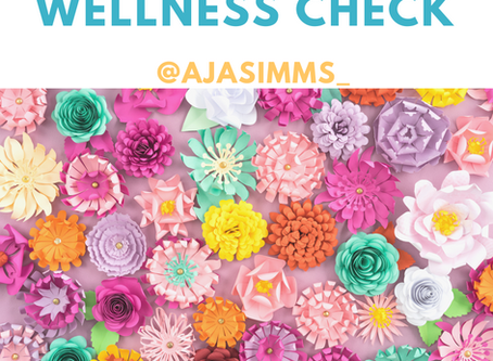 Wellness Check 💐🌻🌼🌸🏵🌺🌹⚘🌷💚