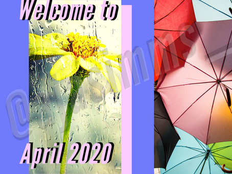 Welcome to April 2020💐!