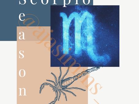 Welcome to #Scorpio Season 🎉♏️🦂