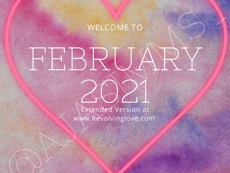 Welcome to February 2021 ❤!