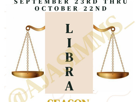 Welcome to Libra ♎ Season!