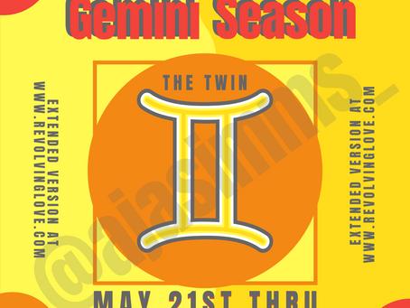 Welcome to Gemini Season ♊!