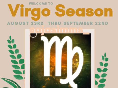 Welcome to Virgo ♍ Season!