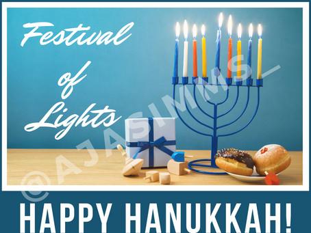 Happy Hanukkah 🕎!
