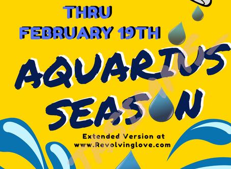 Welcome to Aquarius ♒ Season!