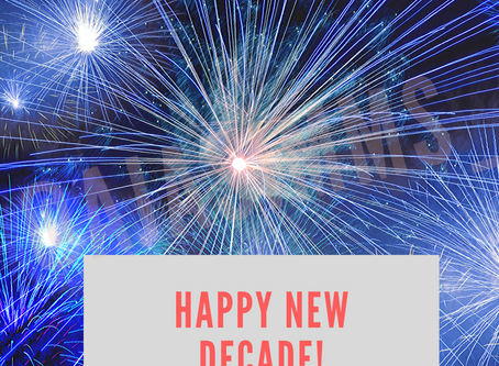 It's a NEW DECADE 🎆🎇!