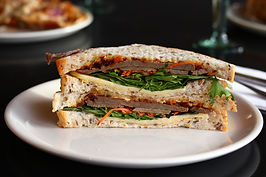 Join the Healthy and Hearty Club - Ms. M's Ultimate Clubhouse Sandwich
