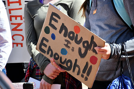 enough-is-enough-hand-painted-protest-si