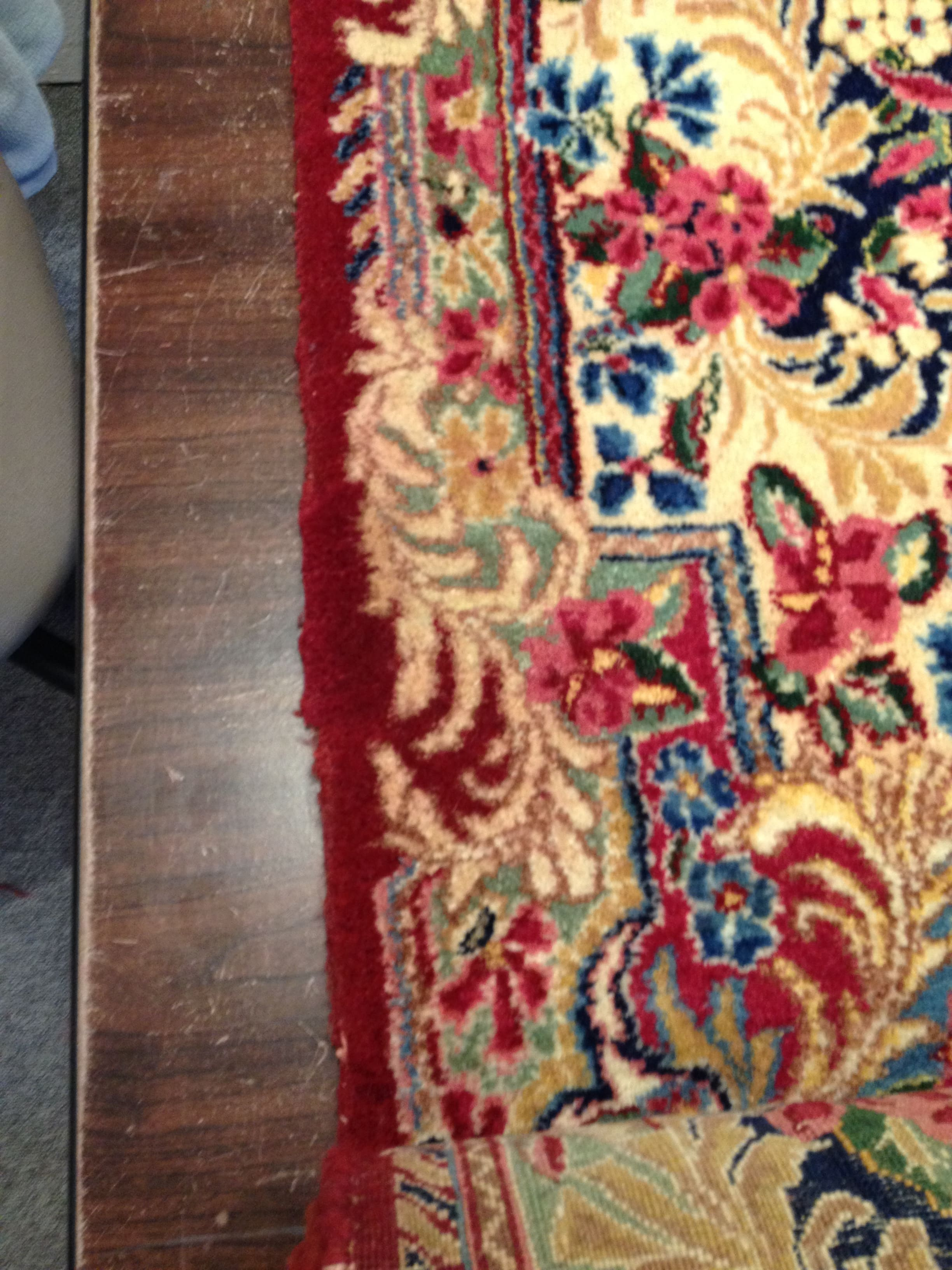 Rug repair done right