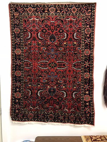 Persian Lilahan circa 1920's 4.6x6.5