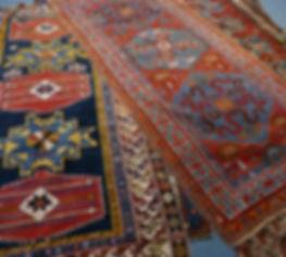 We clean Oriental rugs