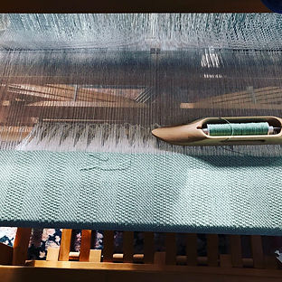 Val's weaving loom