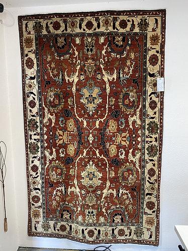 Turkish Village rug 4.6x7.4