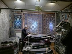 Isfahan rug shop