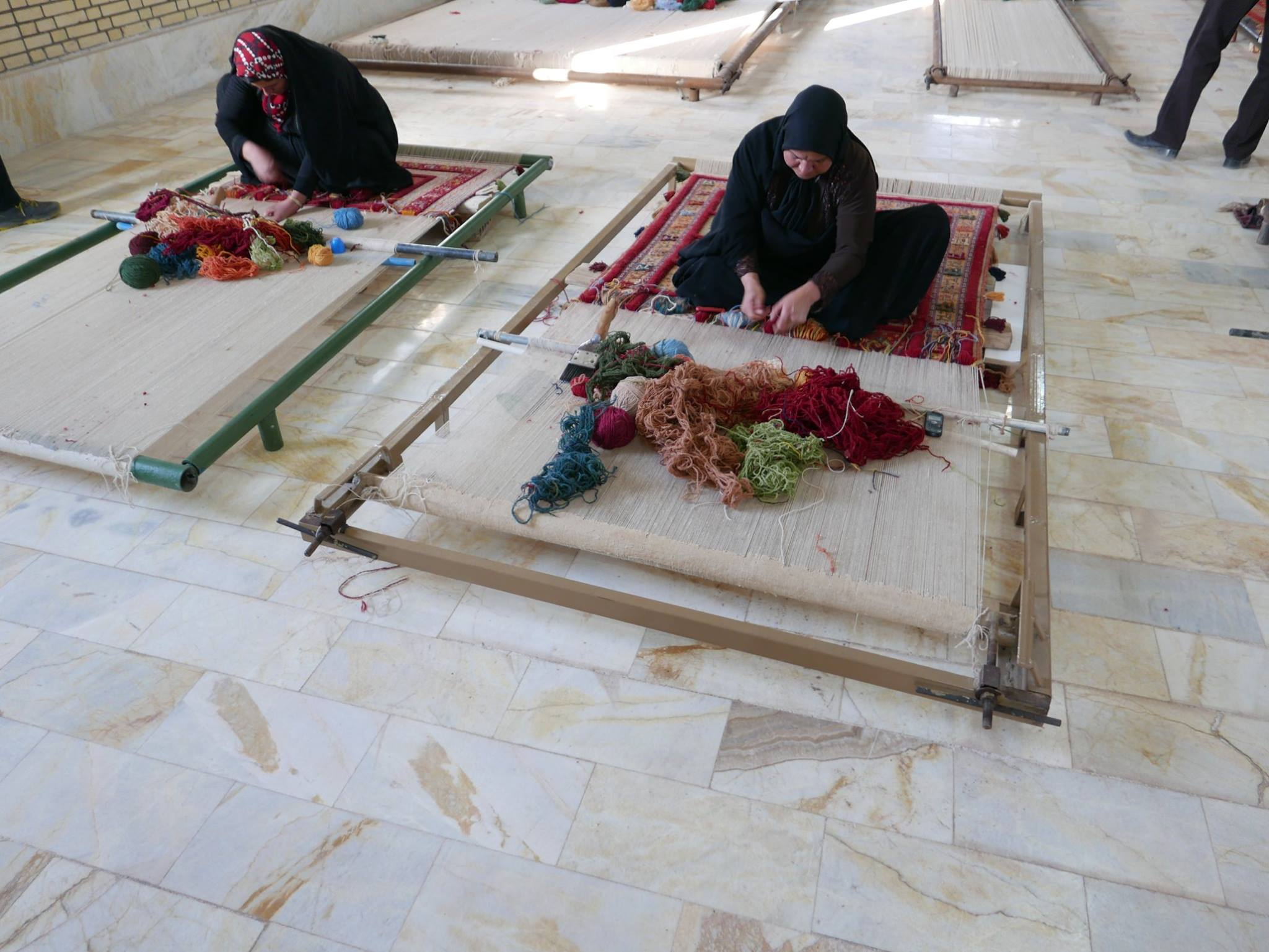 Weaving in Sirjan, Iran