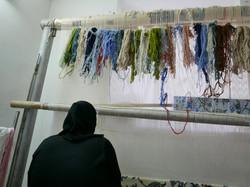 Kashan home weaver