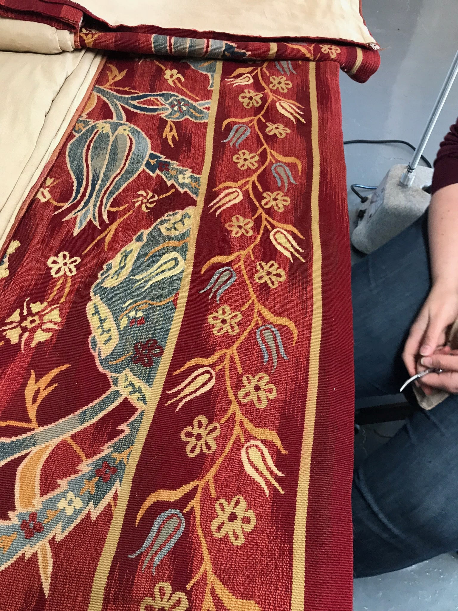 Repair of a Tapestry PDX