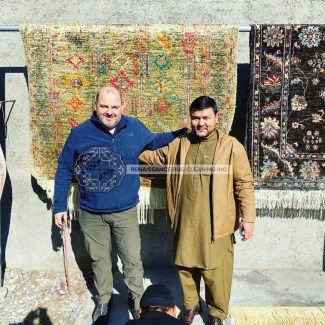 Randy in Kabul 2020