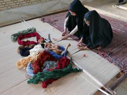 Weaving in Sirjan