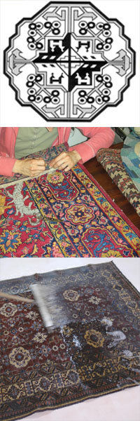 Rug cleaning services offred by Renaissance Rug Cleaning Inc.