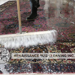 Spring rug cleaning