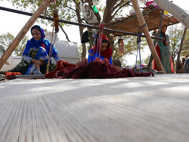 rug weaving in Iran