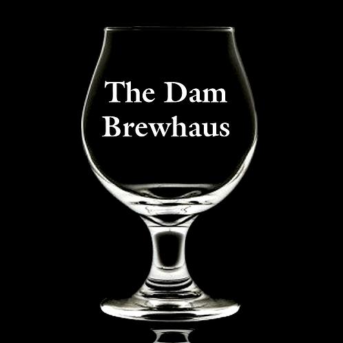 DAM BREWHAUS BELGIAN GLASS