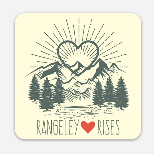 Rangeley Rises Sticker