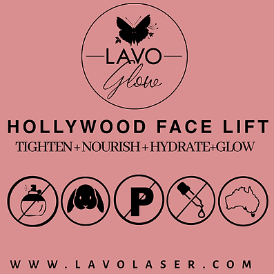 Hollywood Face Lift, Tighten + Hydrate | Lavo Laser Sydney