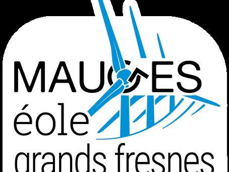 Nouveau Logo pour Mauges Eole Grands Fresnes