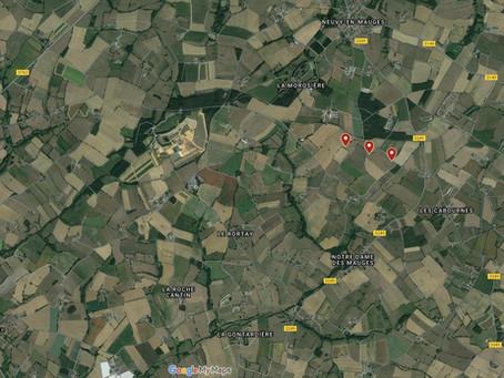 La localisation du Parc des Grands Fresnes