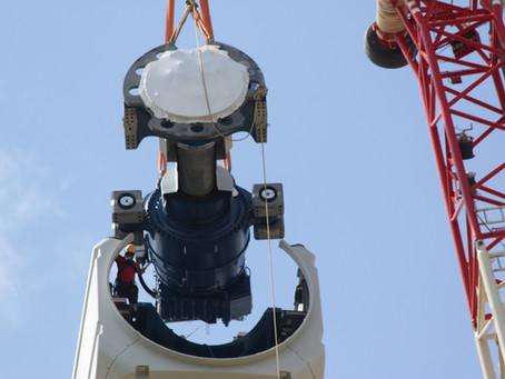 14 Juin : Éolienne E1, le montage continue