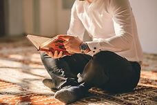 コーランを読みます