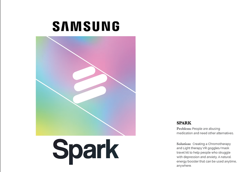 Haley Miller | Art Director | Samsung Spark