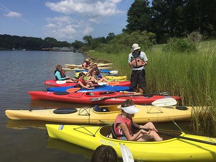 looking at periwinkles from kayaks.JPG