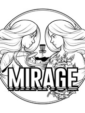 Disc Golf Mirage Artwork