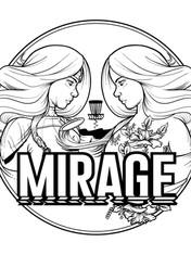 Disc Golf Mirage Artwork