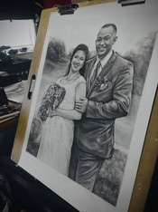 Wedding portrait AAB Allen A. Boyles Art
