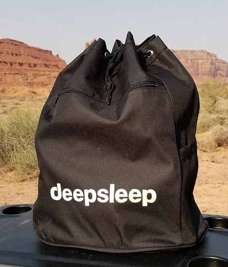 Deepsleep canvas carry bag (included with purchase of deepsleep mattress)