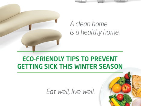 Eco-friendly Tips to Beat the Flu this Winter