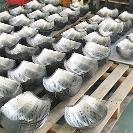 Drum slices waiting to be polished