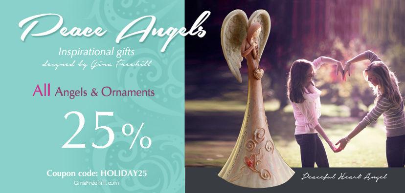 15% off Gina Freehill Pecae Angels